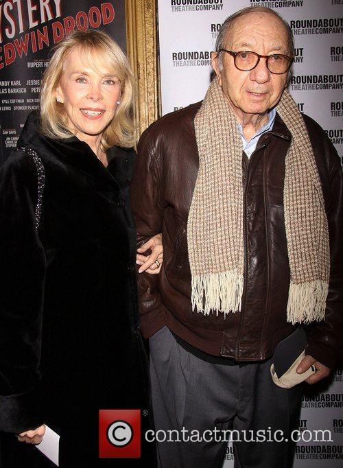 Elaine Joyce and Neil Simon  Broadway opening...