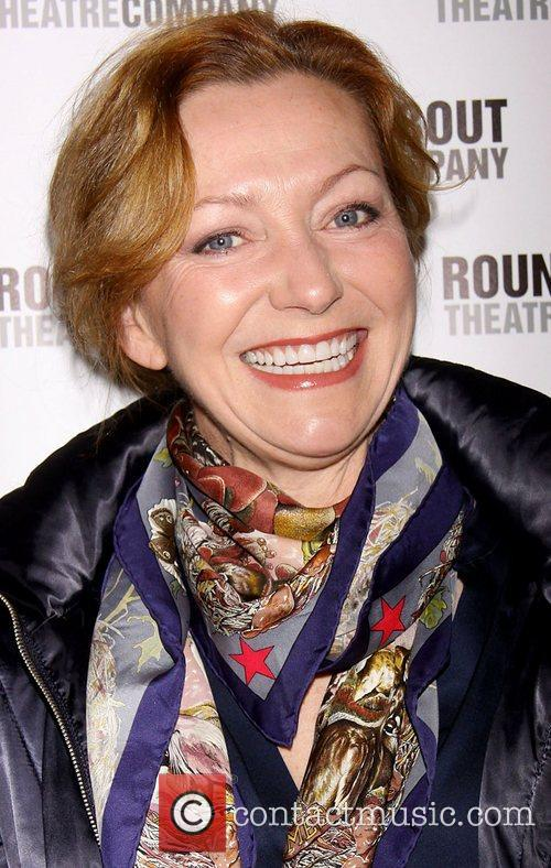 Julie White Broadway opening night of 'The Mystery...