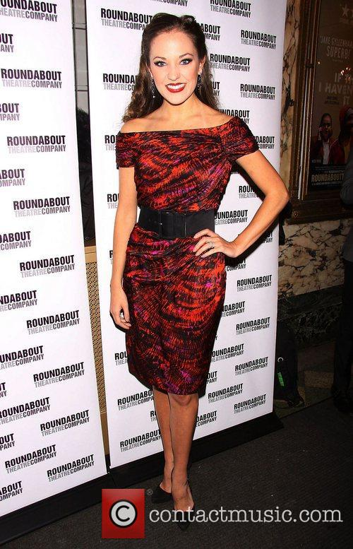 Laura Osnes  Broadway opening night of 'The...