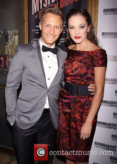 Nathan Johnson and Laura Osnes Broadway opening night...