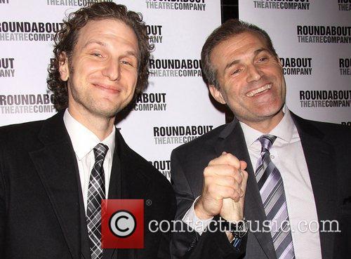 Sebastian Arcelus and Marc Kudisch Broadway opening night...