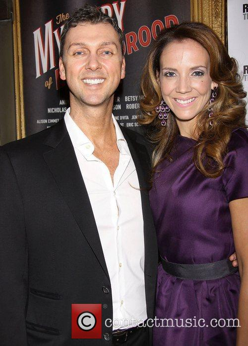 Warren Carlyle and Guest Broadway opening night of...