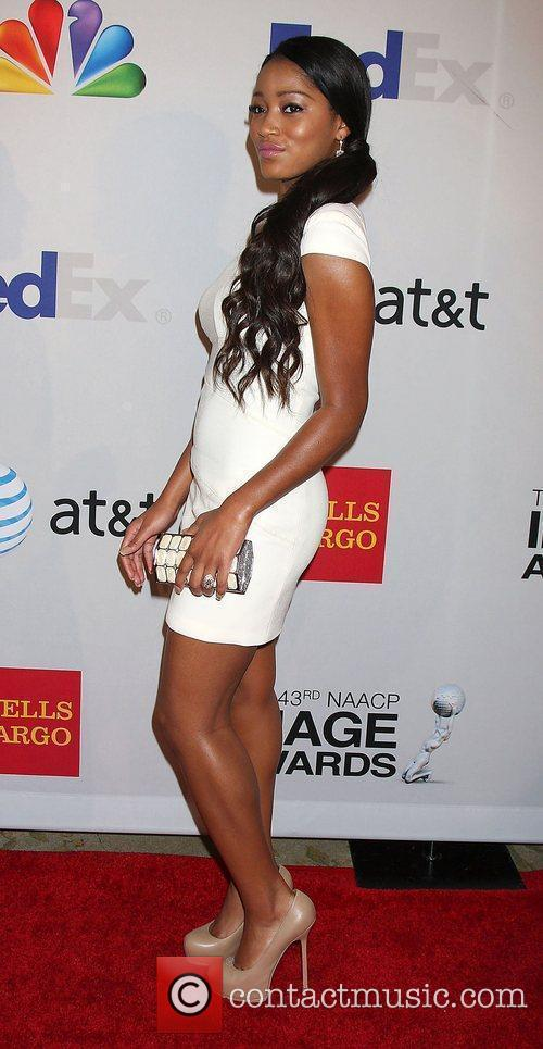Keke Palmer arrives at the NAACP Image Awards...