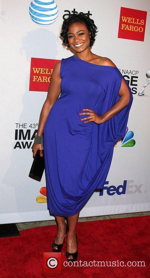 Tatyana Ali arrives at the NAACP Image Awards...