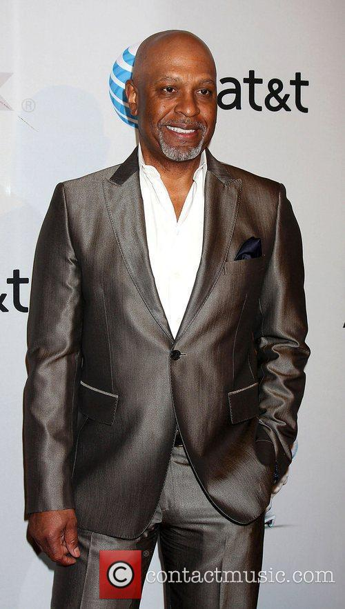 James Pickens Jr arrives at the NAACP Image...