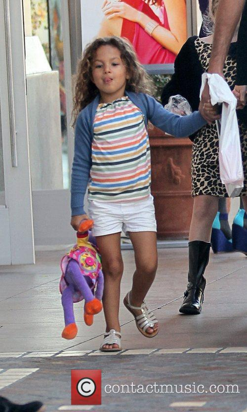 Halle Berry's daughter Nahla Aubry sticks tongue out...