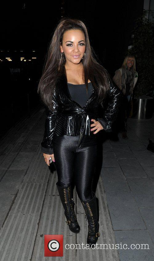 Chelsee Healey,  return to their hotel after...
