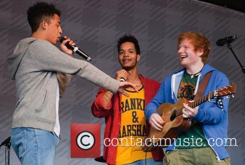 Ed Sheeran and Rizzle Kicks 1
