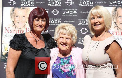 Nanny Pat with her daughters June and Carol...