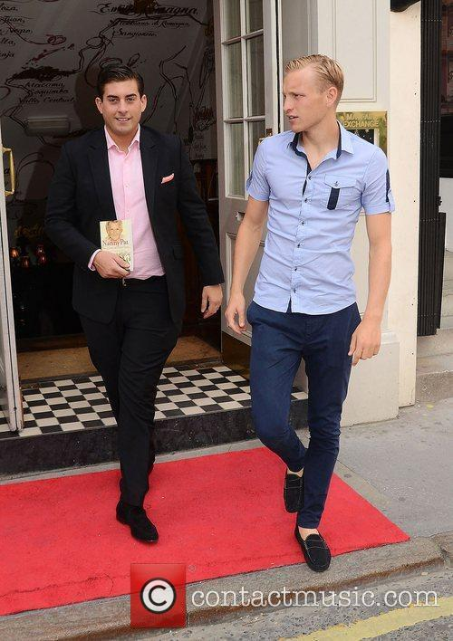 James Argent and Josh Wright,  at the...