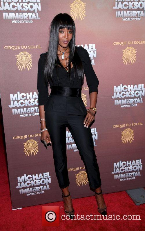 Naomi Campbell, Madison Square Garden