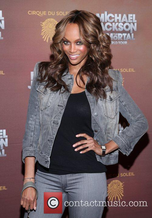 Tyra Banks and Madison Square Garden 6