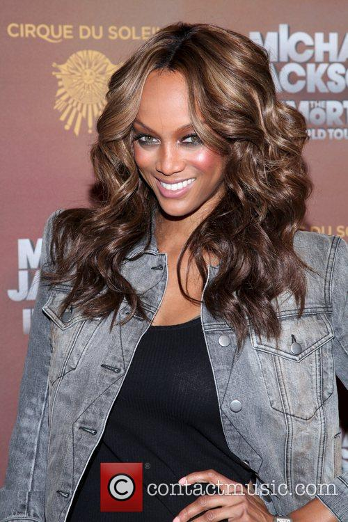 Tyra Banks and Madison Square Garden 1