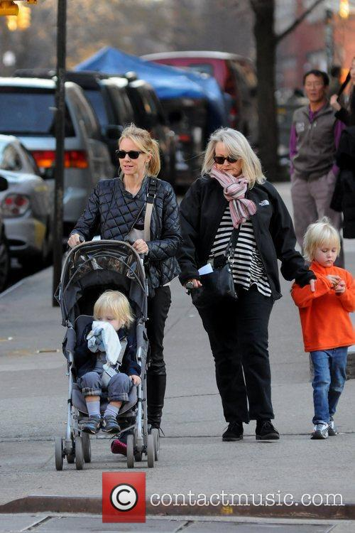 Naomi Watts out and about in Manhattan with...