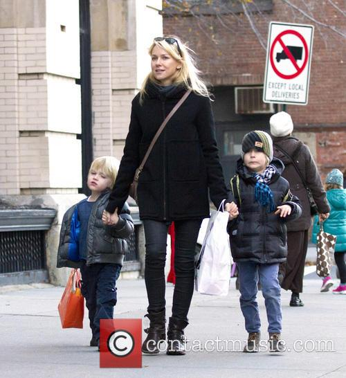 Naomi Watts, Samuel, Sasha and New York City 3