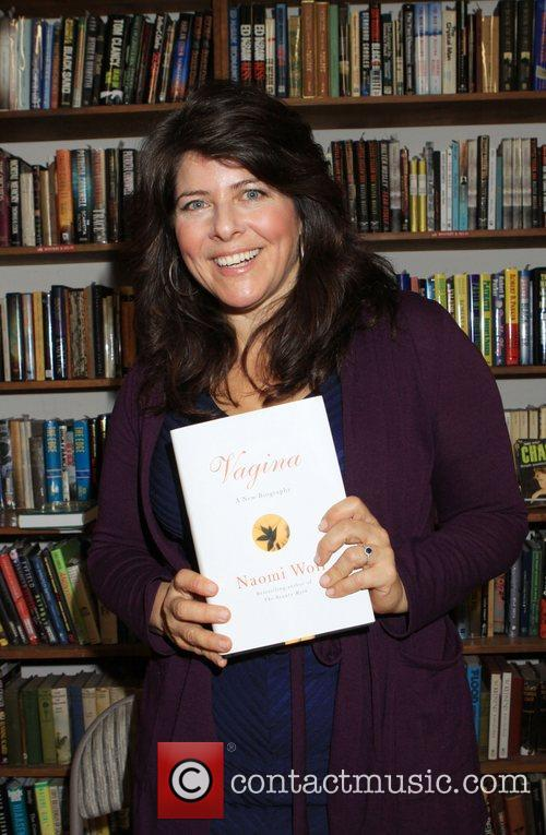 Naomi Wolf  holds a discussion and signs...