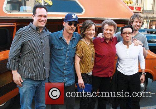 Diedrich Bader, Efren Ramirez, Jon Gries, Jon Heder, Sandy Martin, Tina Majorino and Hollywood And Highland 2