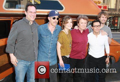 Diedrich Bader, Efren Ramirez, Jon Gries, Jon Heder, Sandy Martin, Tina Majorino and Hollywood And Highland 3