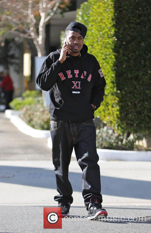 Nas, Fifth Avenue, Beverly Hills, Saks, Kelis and Knight 3