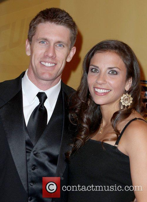 Carl Edwards, Kate Edwards 2011 Nascar Sprint Cup...