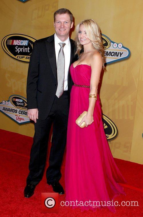 Dale Earnhardt Jr., Amy Reimann 2011 Nascar Sprint...