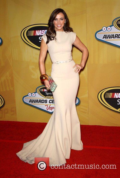 Ingrid Vandebosch 2011 Nascar Sprint Cup Series Awards...