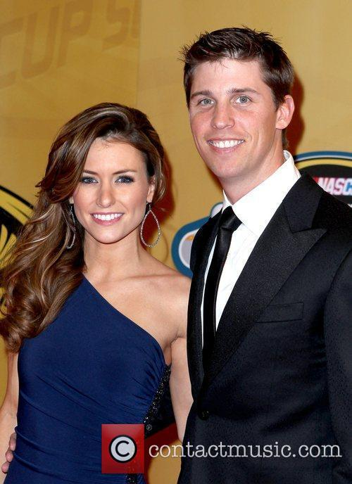 Katie Price and Denny Hamlin 1
