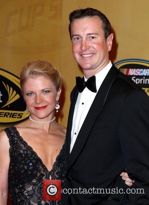 Patricia Driscoll, Kurt Busch 2011 Nascar Sprint Cup...