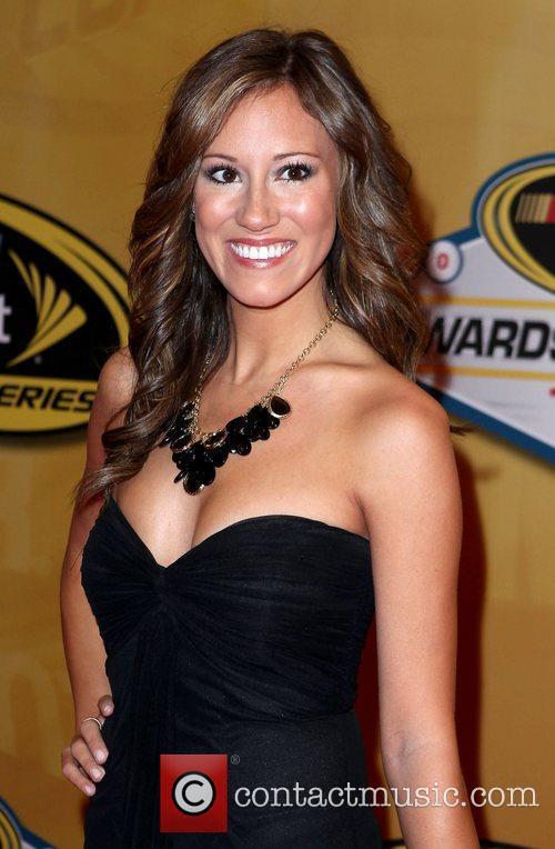 Rachel Rupert 2011 Nascar Sprint Cup Series Awards...