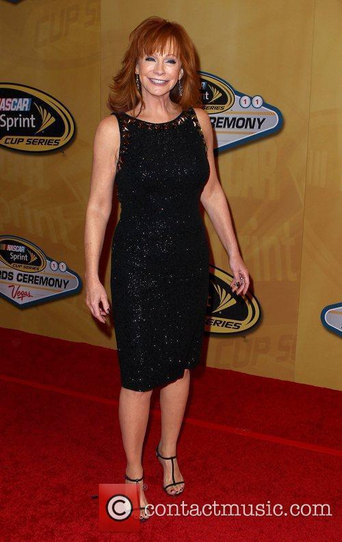 Reba McEntire 2011 Nascar Sprint Cup Series Awards...