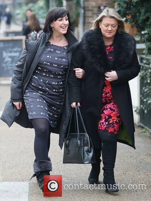 Natalie Cassidy and Itv Studios 11