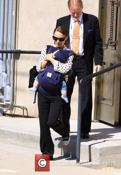 Natalie Portman and Benjamin 9