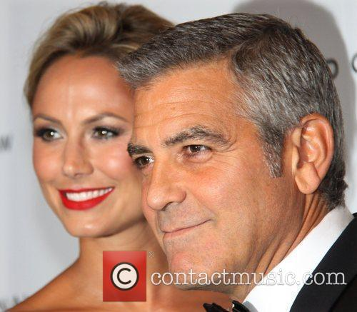 George Clooney and Stacy Kiebler The National Board...