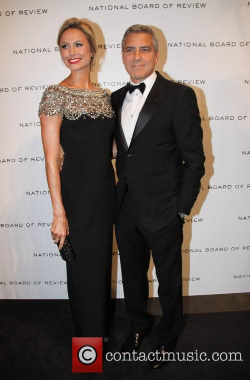 Stacy Kiebler and George Clooney The National Board...