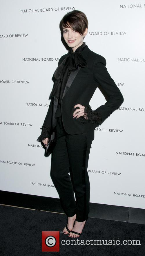 Anne Hathaway and National Board Of Review Awards 1