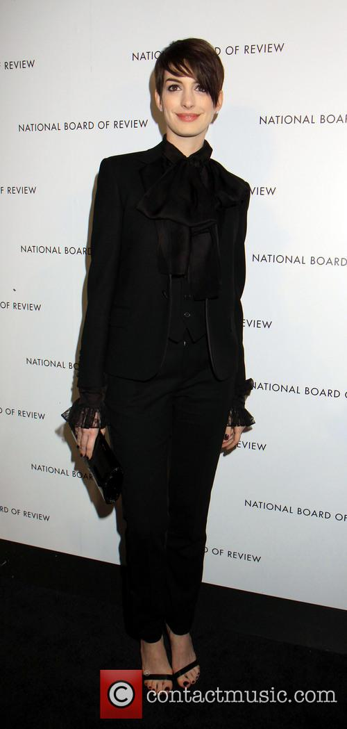 Anne Hathaway, National Board of Review Awards