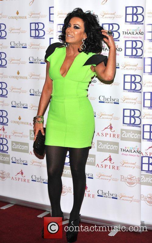 Nancy Dell'Olio National Luxury & Lifestyle Awards held...