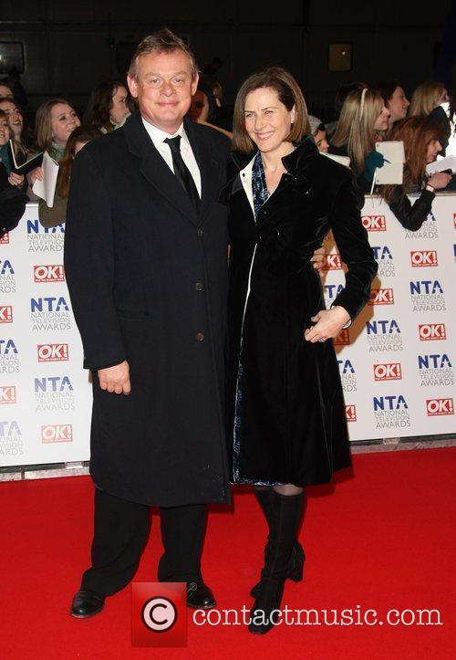 Martin Clunes and Philippa Braithwaite