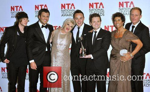 Dougie Poynter, Ant Mcpartlin, Antony Cotton, Declan Donnelly, Mark Wright and O2 Arena 1