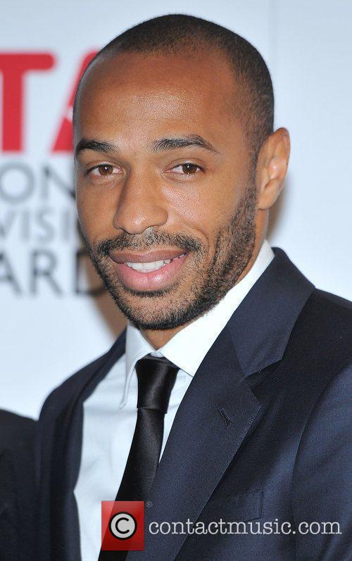 Thierry Henry and O2 Arena