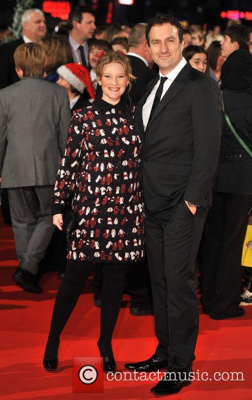 Joanna Page and guest Nativity 2 World Premiere...