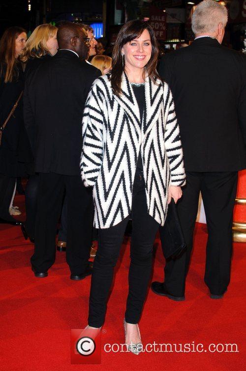 Jill Halfpenny Nativity 2 World Premiere held at...