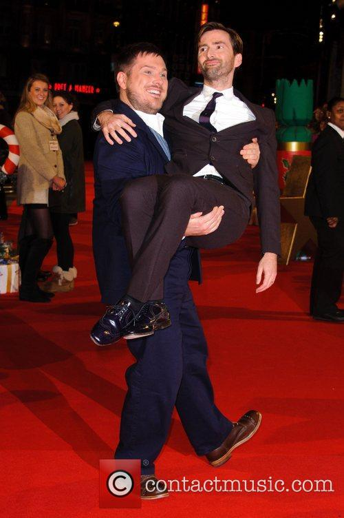 Marc Wootton and David Tennant 5