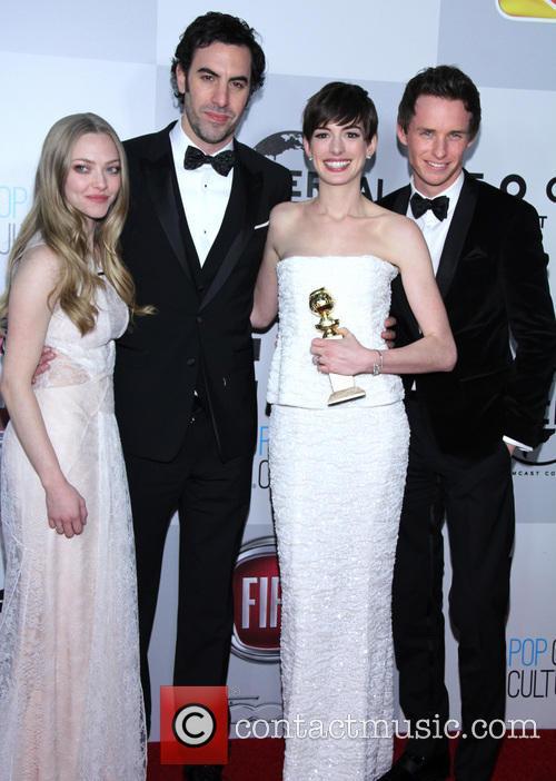 Amanda Seyfried, Sacha Baron Cohen, Anne Hathaway and Eddie Redmayne 3