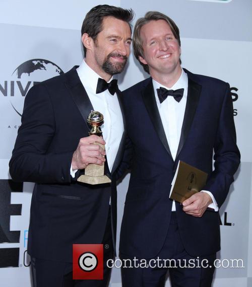Hugh Jackman and Tom Hooper 6