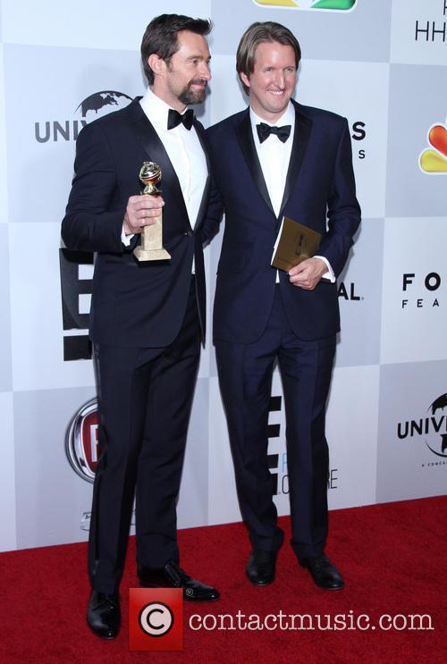 Hugh Jackman and Tom Hooper 7