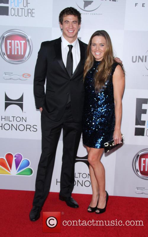 Nathan Adrian, Natalie Coughlin and Beverly Hilton Hotel