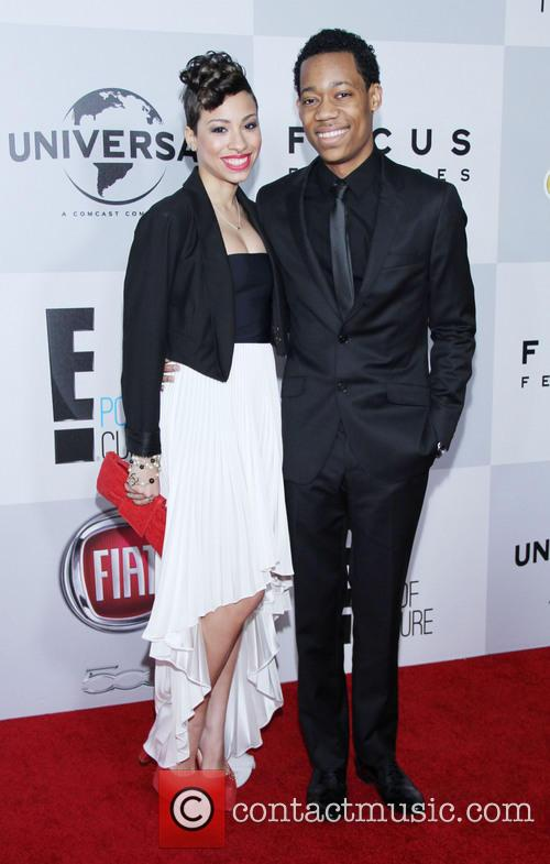 Tyler James Williams, Guest and Beverly Hilton Hotel 1