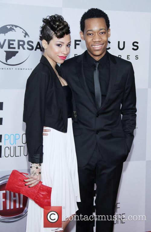 Tyler James Williams, Guest and Beverly Hilton Hotel 2