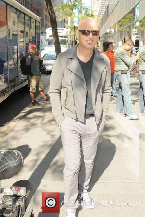Celebrities are seen outside of NBC studios in...